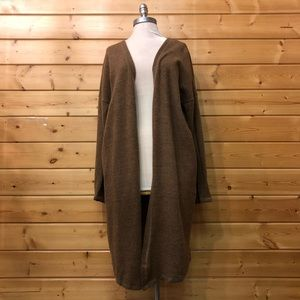 EXTREMELY SOFT BROWN CARDIGAN